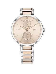 tommy-hilfiger-tommy-hilfiger-angela-carnation-gold-sunray-dial-two-tone-stainless-steel-bracelet-ladies-watch