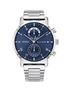 tommy-hilfiger-tommy-hilfiger-kane-blue-sunray-chronograph-dial-stainless-steel-bracelet-mens-watch