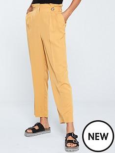 v-by-very-paper-bag-trouser-ochre