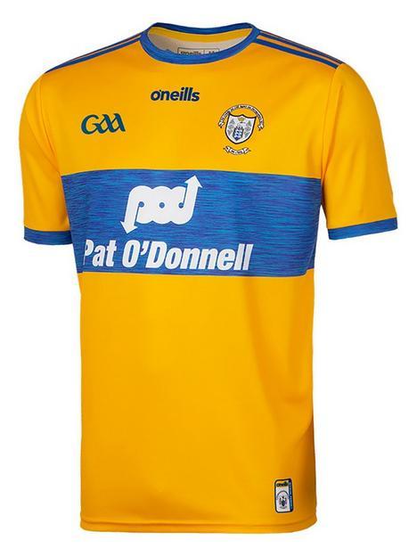 oneills-clare-replica-home-jersey-yellownbsp