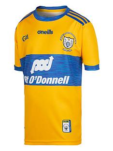 oneills-clare-replica-junior-home-jersey-yellow