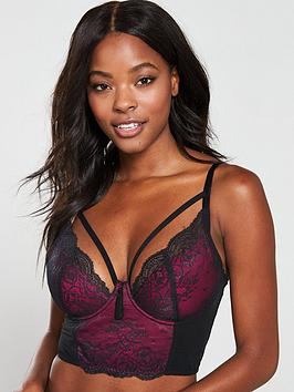 pour-moi-sensation-lightly-padded-underwired-longline-bra-black