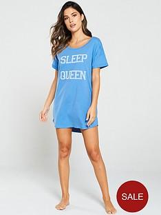 boux-avenue-sleep-queen-sleep-tee-blue