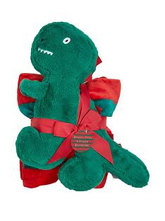 dino-blanket-and-push-pillow-giftset
