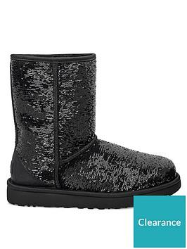 ugg-classic-short-cosmos-sequin-calf-boots-black
