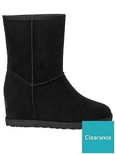 ugg-classic-femme-hidden-wedge-short-calf-boots-black
