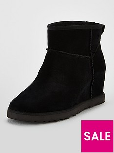 ugg-classic-femme-hidden-wedge-mini-ankle-boots-black