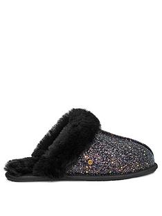 ugg-scuffette-ii-cosmos-slippers-black