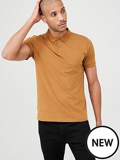 v-by-very-short-sleeved-jersey-polo-shirt-bronze