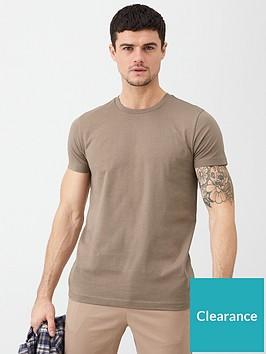 v-by-very-essential-crew-neck-t-shirt-pine-bark