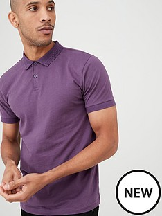 v-by-very-short-sleeved-jersey-polo-shirt-purple