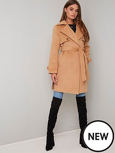 chi-chi-london-cleo-coat-camel