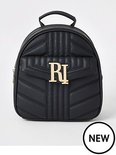 river-island-river-island-quilted-mini-backpack-black
