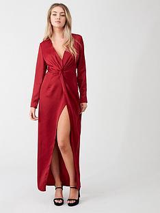 little-mistress-v-neck-maxi-dress-ruby