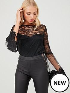little-mistress-long-sleeve-lace-top-black