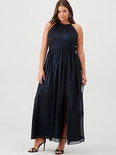 little-mistress-curve-maxi-halter-neck-dress-blue