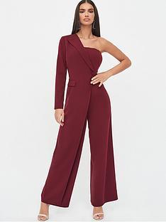 lavish-alice-one-sleeve-bandeau-wide-leg-jumpsuit-burgundy