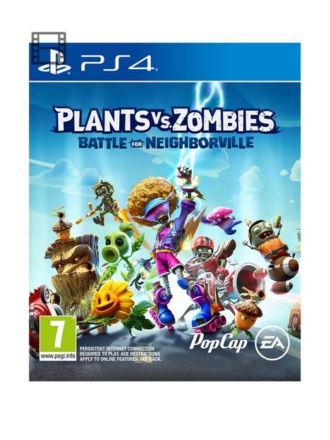 playstation-4-plants-vs-zombiesnbspbattle-for-neighborville