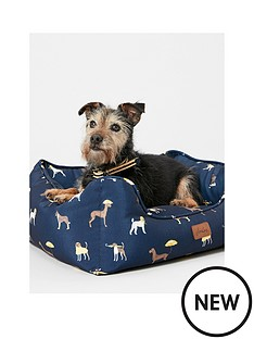 joules-joules-coastal-collection-dog-square-bed--small