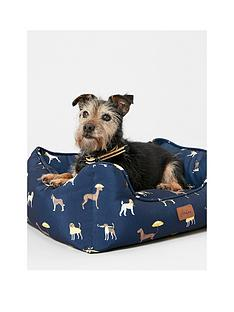 joules-joules-coastal-collection-dog-square-bed