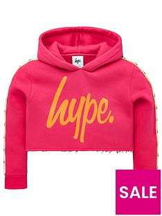 hype-girls-taped-cropped-hoodie-pink