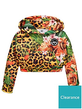 hype-girls-jungle-cropped-hoodie-multi