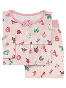 cath-kidston-girls-christmas-jersey-pyjama-set-pink