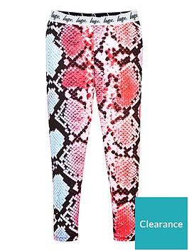 hype-girls-snake-print-waistband-leggings-pink
