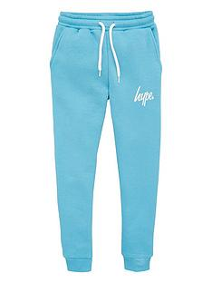 hype-kids-script-jog-pants-blue