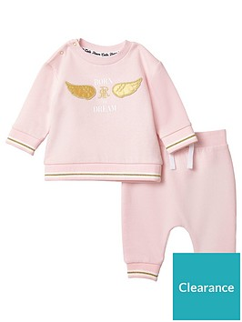 river-island-baby-baby-born-to-dream-sweatshirt-outfit-pink