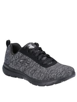 skechers-flex-appeal-30nbspinsiders-trainer-black