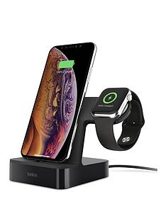 belkin-powerhouse-charge-dock-for-apple-watch-iphone-black