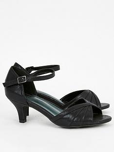 evans-extra-wide-fit-hilla-metallic-black-two-part-sandals-black