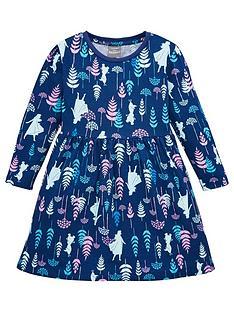 disney-frozen-toddler-girls-jersey-dress-navy