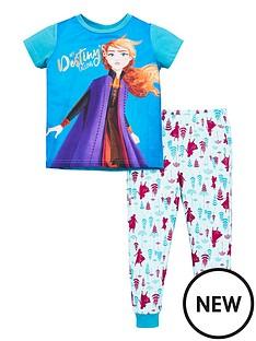 disney-frozen-2-toddler-girls-removable-cape-pjs-multi