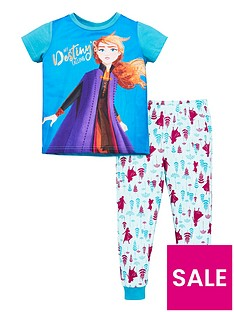 disney-frozen-2-toddler-girls-removable-cape-pjs-multi