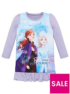 disney-frozen-toddler-girls-frozen-2-long-sleeved-nightie-multi