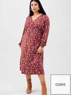junarose-curvenbspmauda-long-sleeve-midi-dress-floral