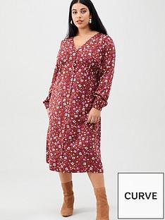 junarose-mauda-long-sleeve-midi-dress-floral