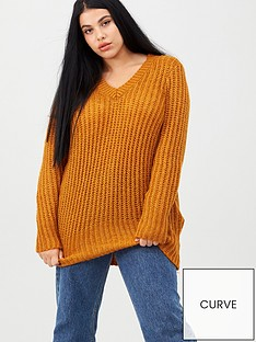 junarose-oviya-long-sleeve-knit-pullover-gold