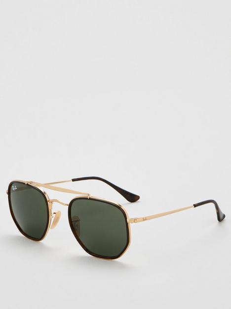 ray-ban-0rb3648m-hexagonal-frame-sunglasses