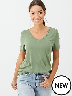 v-by-very-the-essential-v-neck-soft-touch-t-shirt-khaki