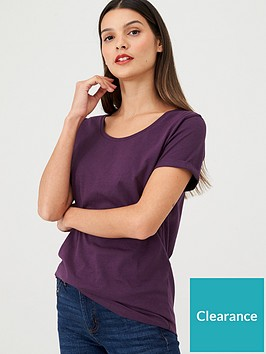 v-by-very-the-essential-scoop-neck-t-shirt-plum