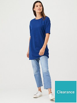 v-by-very-the-essential-34-sleeve-longline-tunic-navy