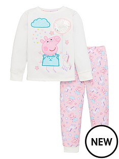 peppa-pig-girls-unicorn-and-sequin-pyjamas-multi