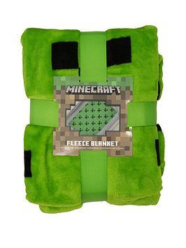 minecraft-emerald-fleece-blanket