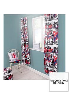 marvel-spidermannbspmetropolis-pleated-curtains