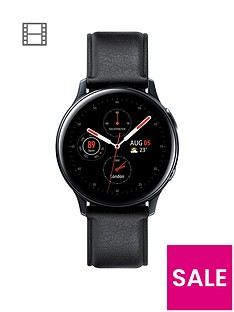 prod1088853697: Galaxy Watch Active2 4G Stainless Steel 40mm Black