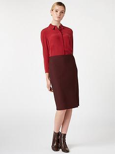 hobbs-silk-odette-shirt-scarlet-red