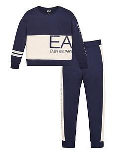 ea7-emporio-armani-girls-2-piece-large-logo-crew-sweatshirt-and-joggers-set-navy